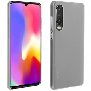 Hardcase, Schutzhülle aus Polycarbonat Huawei P30, frosted case ? Weiß