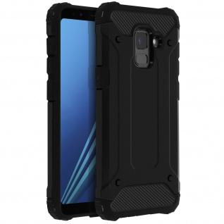 Defender II stoßfeste Hülle für Samsung Galaxy A8 â€? Fallfest (1, 80m) â€? Schwarz