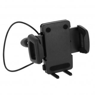 HR-imotion Kopfstützen-/Motorradspiegelhalterung für Smartphones - Schwarz