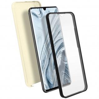 Schutzhülle für Xiaomi Mi Note 10 / Note 10 Pro, Vorder- + Rückseite ? Gold