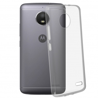 Motorola Moto E4 Schutzhülle Silikon ultradünn (0.30mm) ? Transparent
