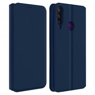 Kunstleder Cover Classic Edition Huawei Y6p - Blau