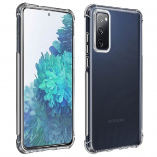 Premium Schutz-Set für Samsung S20 FE Schutzhülle + Schutzfolie ? Transparent