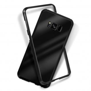 Samsung Galaxy S8 Plus Bumper magnetische Hülle - Schwarz