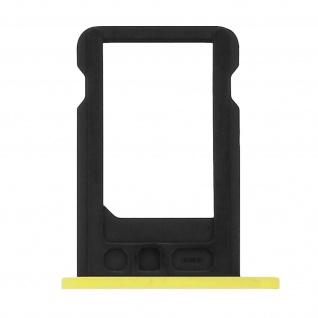 Nano-Sim-Ersatz-Kartenhalter für Apple iPhone 5C - Gelb