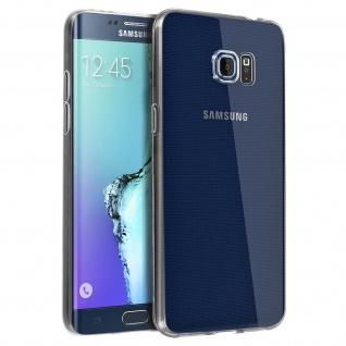 Samsung Galaxy S6 Edge Plus Schutzhülle Silikon ultradünn (0.30mm) ? Transparent