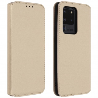 Kunstleder Cover Classic Edition Samsung Galaxy S20 Ultra - Gold