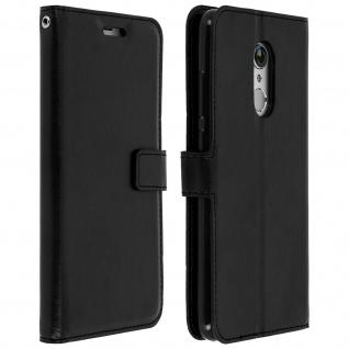 Flip Cover Stand Case Brieftasche & Standfunktion für Xiaomi Redmi 5 - Schwarz - Vorschau 2