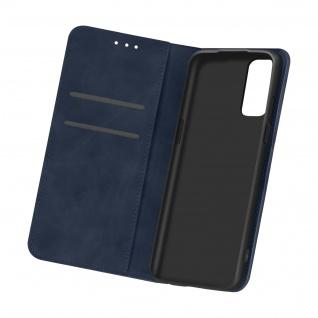 Flip Stand Case Brieftasche & Standfunktion für Oneplus 9 ? Dunkelblau