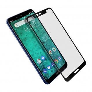 9H Härtegrad kratzfeste Glas-Displayschutzfolie für Nokia 5.1 Plus â€? Schwarz