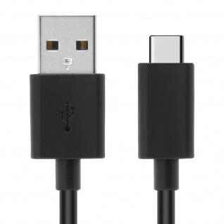 Original Sony USB-Typ C/ Micro-USB Kabel - Aufladen & Synchronisierung - Schwarz - Vorschau 5