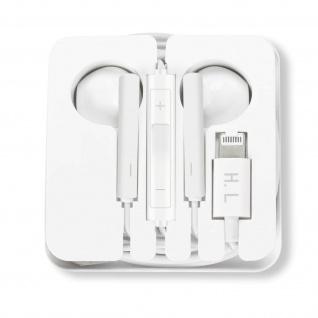 Kabelgebundene iPhone Lightning Kopfhörer mit Freisprechfunktion +d Fernbedienun