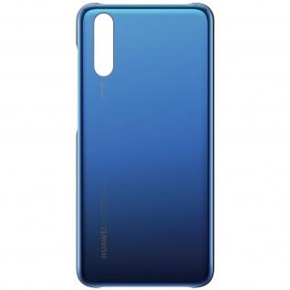 Original Huawei Schutzhülle für Huawei P20, Original Glossy Case - Dunkelblau