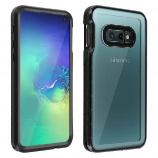 Redpepper Waterproof Handyhülle für Samsung Galaxy S10e - Schwarz
