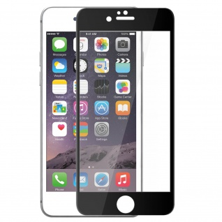 Bruchsichere Displayschutzfolie voller Schutz iPhone 6 Plus / 6S Plus - Schwarz