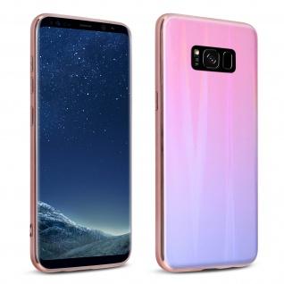 Aurora Series holografische Handyhülle Samsung Galaxy S8 - Rosa
