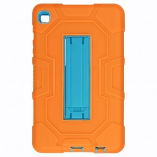 Stoßfeste Schutzhülle mit Ständer für Samsung Galaxy Tab A7 Lite ? Orange