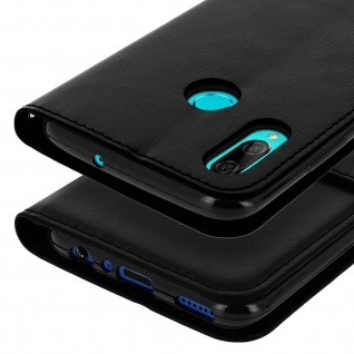 Flip Stand Cover mit Standfunktion Huawei P Smart 2019 / Honor 10 Lite - Schwarz - Vorschau 5