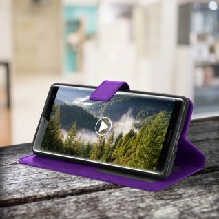 Flip Stand Cover Brieftasche & Standfunktion Sony Xperia XZ3 - Violett - Vorschau 5