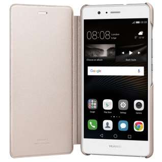 Original Huawei Flip-Cover für Huawei P9 Lite - Rosegold - Vorschau 3
