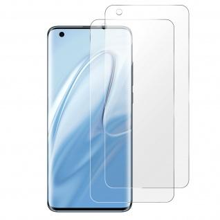 2x Xiaomi Mi 10 Hydrogel Displayschutzfolien flexibel - Imak - Transparent