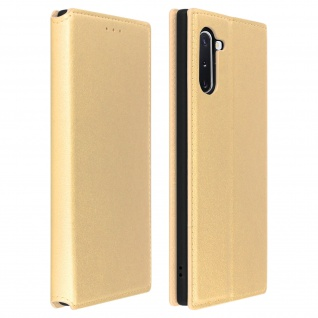 Kunstleder Cover Classic Edition Samsung Galaxy Note 10 - Gold