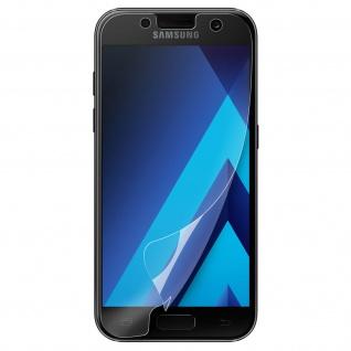 2x Original Samsung geschmeidige Displayschutzfolie für Samsung Galaxy A3 2017