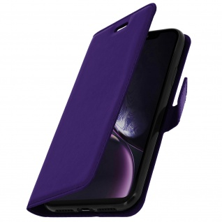 Flip Stand Cover Brieftasche & Standfunktion Apple iPhone XR - Violett 2