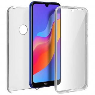 Schutzhülle für Huawei Y6 2019, Vorder- + Rückseite ? Transparent