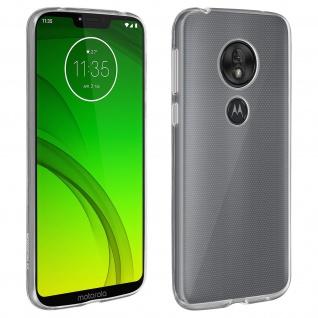 Motorola Moto G7 Power Schutzhülle Backcover Silikon Second Skin - Transparent