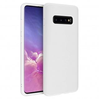 SolidSuit stoßfeste Handyhülle by Rhinoshield für Samsung Galaxy S10 Plus - Weiß