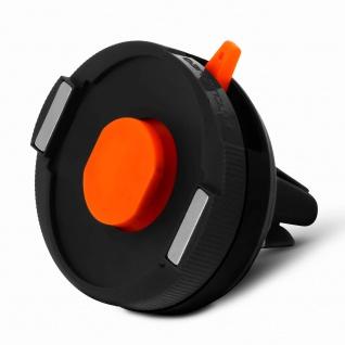 Tigra Sport FitClic Neo schwarze KFZ-Lüftungshalterung mit doppeltem Verschluss