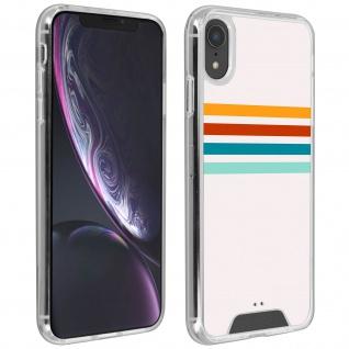 Handyhülle für Apple iPhone XR, Made in France ? Stripes Design