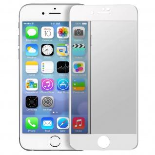 Premium Schutzfolie für Apple iPhone 7 Plus/8 Plus mit Blickschutz - Weiß