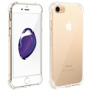 Akashi Gelhülle mit verstärkten Ecken für Apple iPhone 7/ iPhone 8 - Transparent