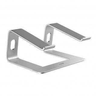 Notebook / Macbook Ständer Stabil und belüftet HD3269 LinQ â€? Silber