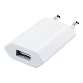 USB Wand Ladegerät 1A â€? Weiß
