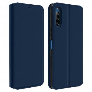 Kunstleder Cover Classic Edition Sony Xperia L4 - Blau