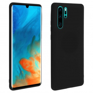 Forcell Huawei P30 Pro Soft Touch Silikonhülle, soft case - Schwarz