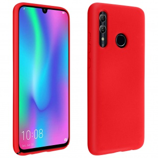 Halbsteife Handyhülle Huawei P Smart 2019 / Honor 10 Lite, Soft Touch - Rot