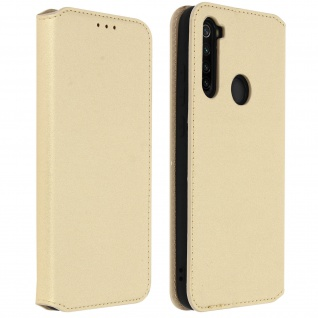 Kunstleder Cover Classic Edition Xiaomi Redmi Note 8T - Gold