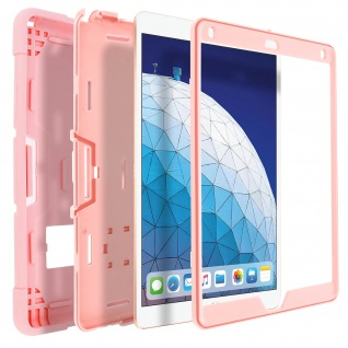 Hybrid Soft Touch Hülle, Standing Case für iPad Air 2019/Pro 10.5 - Rosa