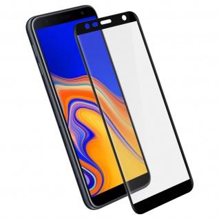 Displayschutzfolie, 9H 11D Schutzfolie für Samsung Galaxy J6 Plus Schwarz