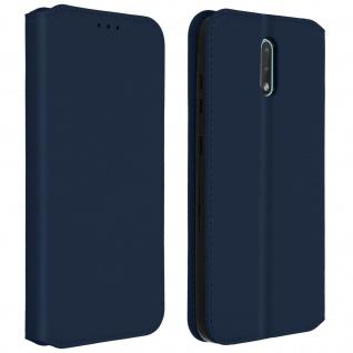 Kunstleder Cover Classic Edition Nokia 2.3 - Blau