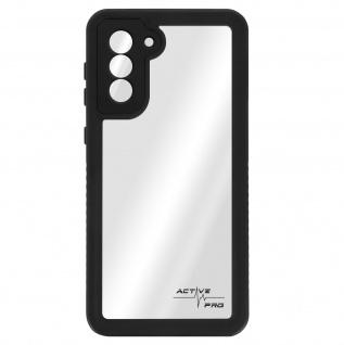 Wasserdichte IP68 Schutzhülle für Samsung Galaxy S21 Plus, 4Smarts - Transparent
