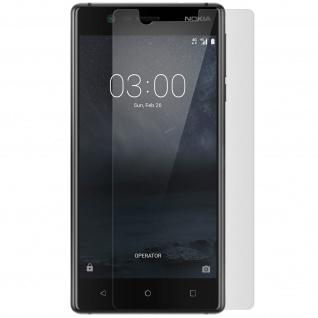 Robuste Glas-Displayschutzfolie mit 9H Härtegrad â€? Bruchsicher für Nokia 3