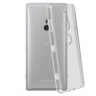 Sony Xperia XZ2 Schutzhülle Silikon ultradünn (0.30mm), Gelhülle - Transparent