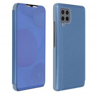 Samsung Galaxy A42 5G View Cover mit Spiegeleffekt & Standfunktion - Blau