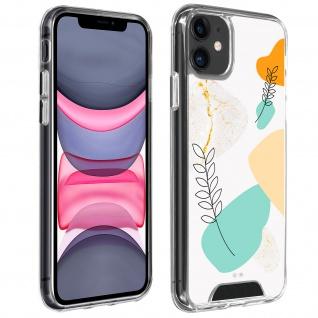 Stoßfeste Handyhülle Apple iPhone 11, Made in France ? Lorbeerblatt Design