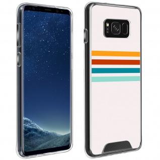 Handyhülle für Galaxy S8 Plus, Made in France ? Stripes Design